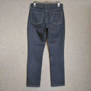 NYDJ Ankle Stretch Jeans Sz 6 Dark Wash